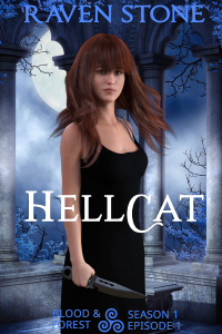 book cover for hellcat by raven stone