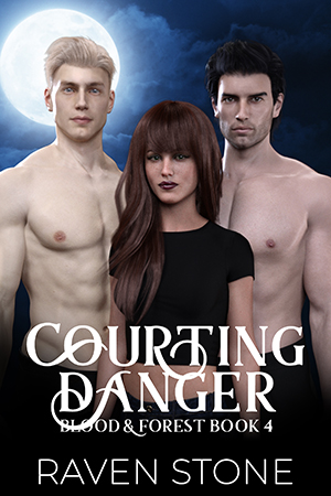book cover for Courting Danger by Raven Stone