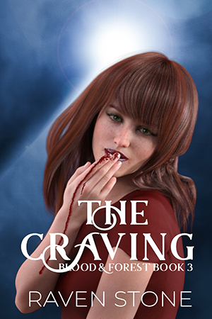 book cover for The Craving by Raven Stone